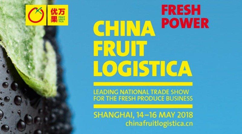 China Fruit Logistica chega em 2018