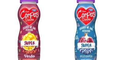 Corpos Danone lança iogurtes 'super'