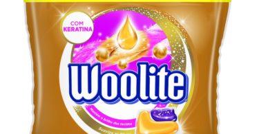 Woolite lança detergente com Keratina