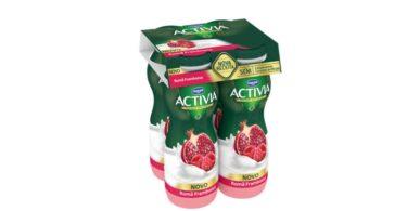 Iogurtes líquidos Activia têm nova receita