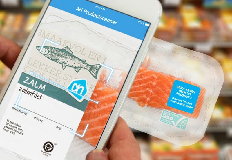 Albert Heijn cria scanner de produtos com realidade virtual