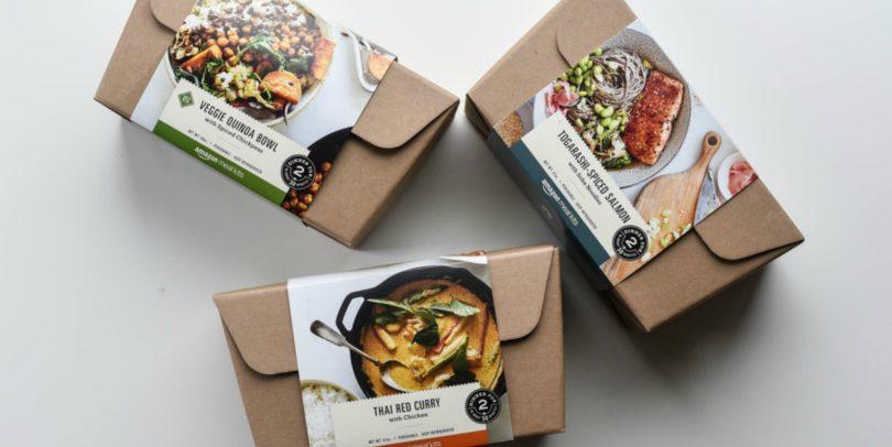 Amazon quer chegar à mesa dos clientes com kits de refeições