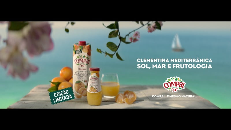 Compal lança néctar de Clementina Mediterrânica