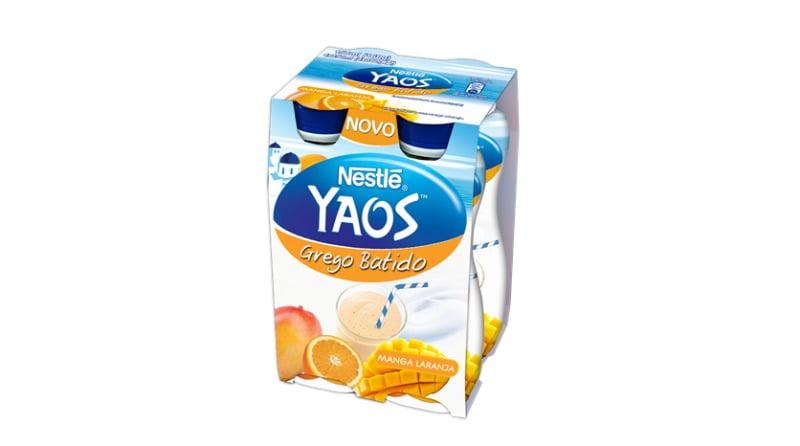 Iogurtes gregos da Nestlé mudam de nome e apresentam novos produtos