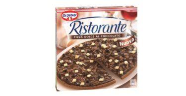 Dr. Oetker lança a primeira pizza doce do mercado dos congelados