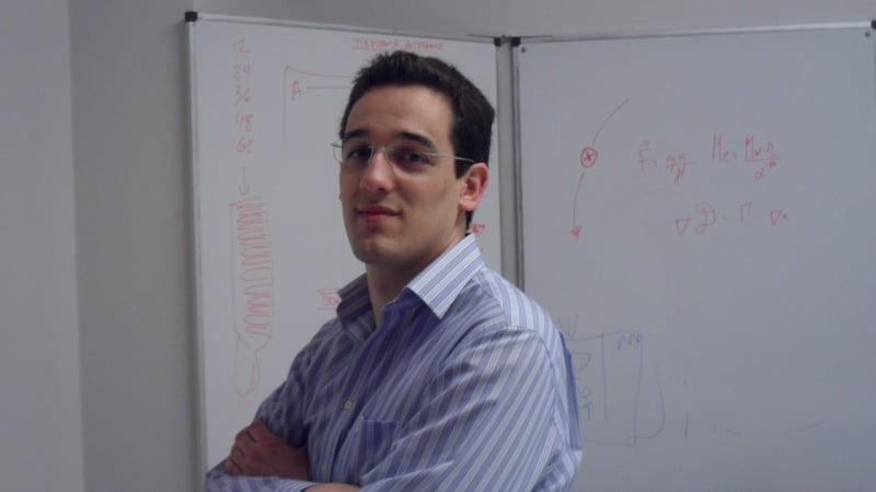 Tiago Cunha Reis, CEO da Mater Dynamics, empresa responsável pelo desenvolvimento do QStamp