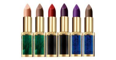 L'Oréal e Balmain lançam coleção de batons de 'alta costura'