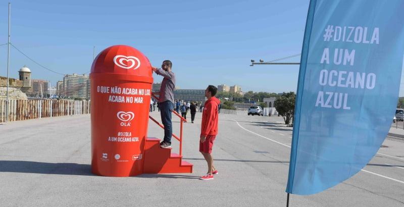 Olá e Oceanário de Lisboa premeiam quem colocar o lixo no lixo