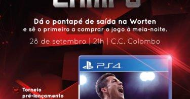 AF CARTAZ GAMERING FIFA  X