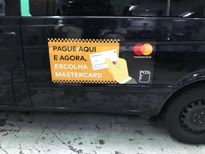 Táxis de Lisboa equipados com nova solução de pagamento