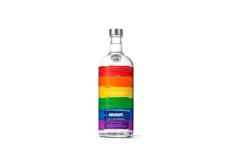 Absolut Vodka promove orgulho na diversidade com edição limitada