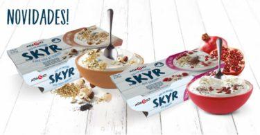 Adagio lança iogurtes Skyr com Cereais e Frutos Secos