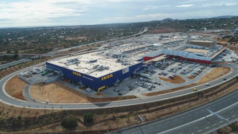 Mar Shopping Algarve a postos para a abertura