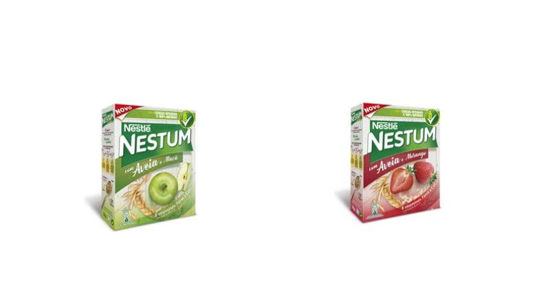 Nestum lança variedades com aveia e fruta