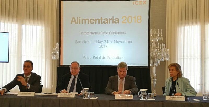 Alimentaria 2018 convida 800 compradores internacionais