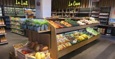 Auchan abre loja especializada em produtos biológicos