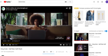 El Corte Inglés estreia 'Trueview for Shopping' no Youtube