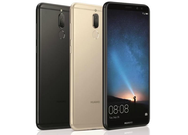 Smartphones da Huawei distinguidos pela Google