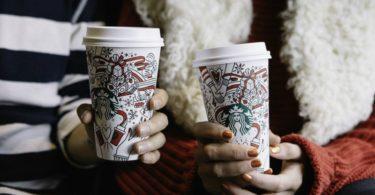 Natal já chegou às lojas Starbucks