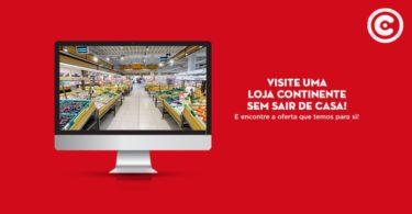 Continente Online já permite fazer visitas virtuais
