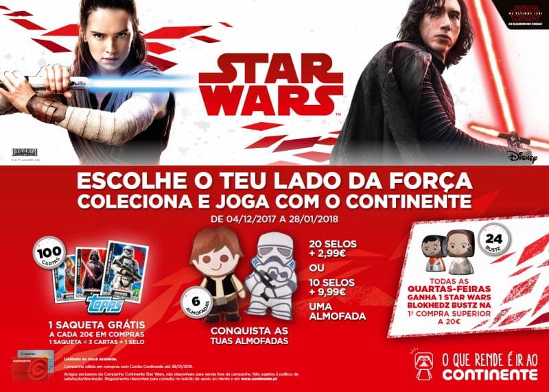 Star-Wars-campanha-Continente-Distribuição-Hoje-