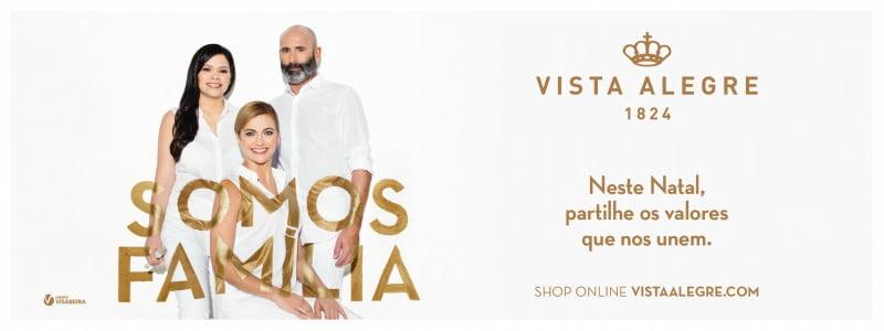 Nova campanha apresenta a 'família' Vista Alegre