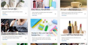 Amazon cria 'caixas de amostras'