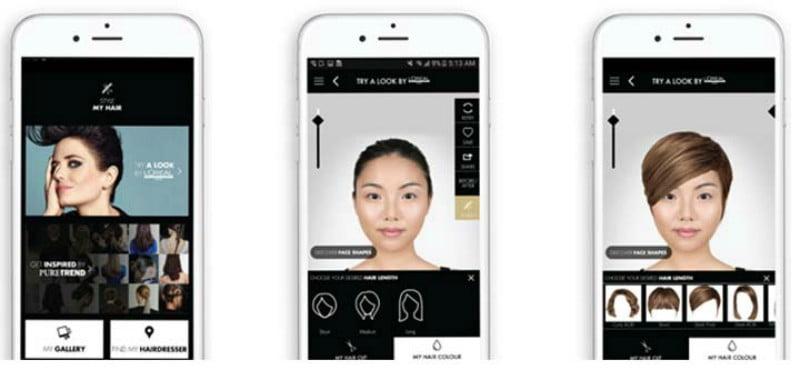 App da L'Oréal usa tecnologia 3D e inteligência artificial para ajudar clientes a escolher coloração para o cabelo