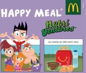 McDonald's e Nutri Ventures juntas para promover alimentação saudável