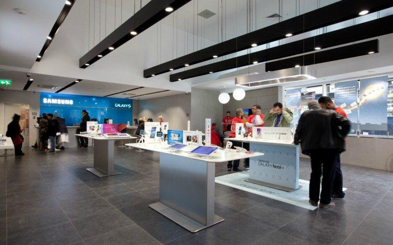 Samsung aposta em 'pop-up stores conectadas' para conhecer melhor os clientes