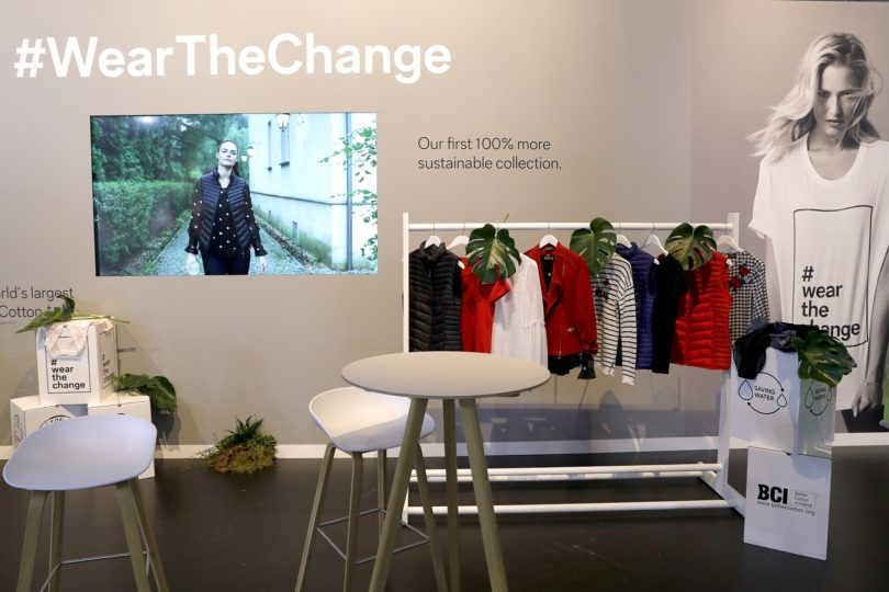 DUESSELDORF, GERMANY - OCTOBER 26:  Fashion is on display at the C&A collection preview Spring/Summer 18 on October 26, 2017 in Duesseldorf, Germany. C&A presents their latest collection in front of Europe's leading fashion and lifestyle media. C&A's collection opens the door to an urban Secret Garden.  (Photo by Andreas Rentz/Getty Images for C&A)