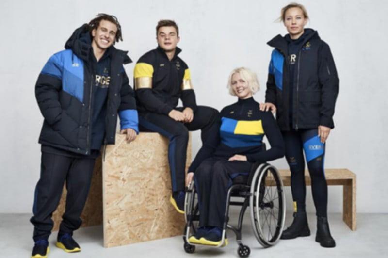 H&M veste equipa sueca nos Jogos Olímpicos e Paralímpicos de 2018