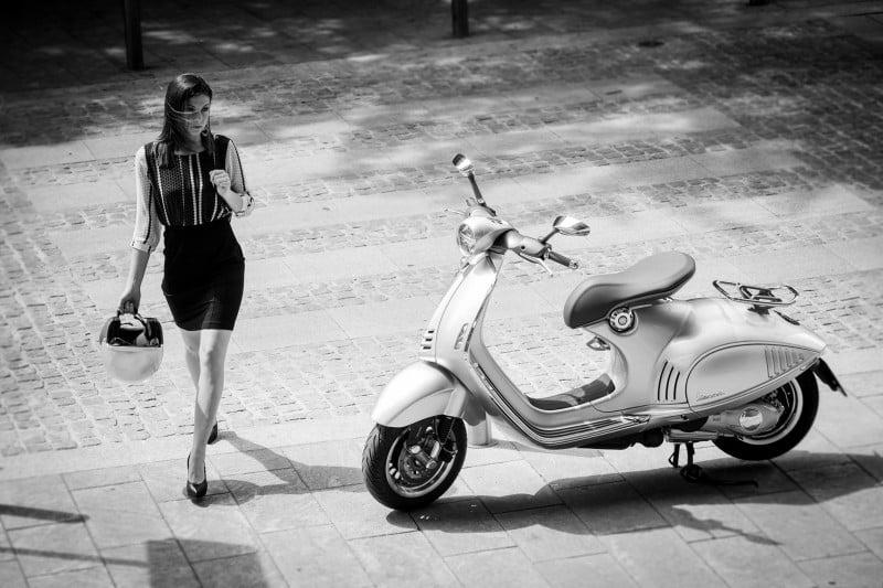 Vespa alia-se à moda nacional