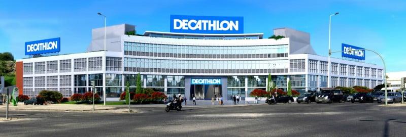 e08ae77ca Decathlon investe 16 M€ em loja que integra restaurante e zona para  praticar desporto