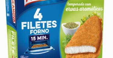 Pescanova lança duas novas variedades de filetes para forno