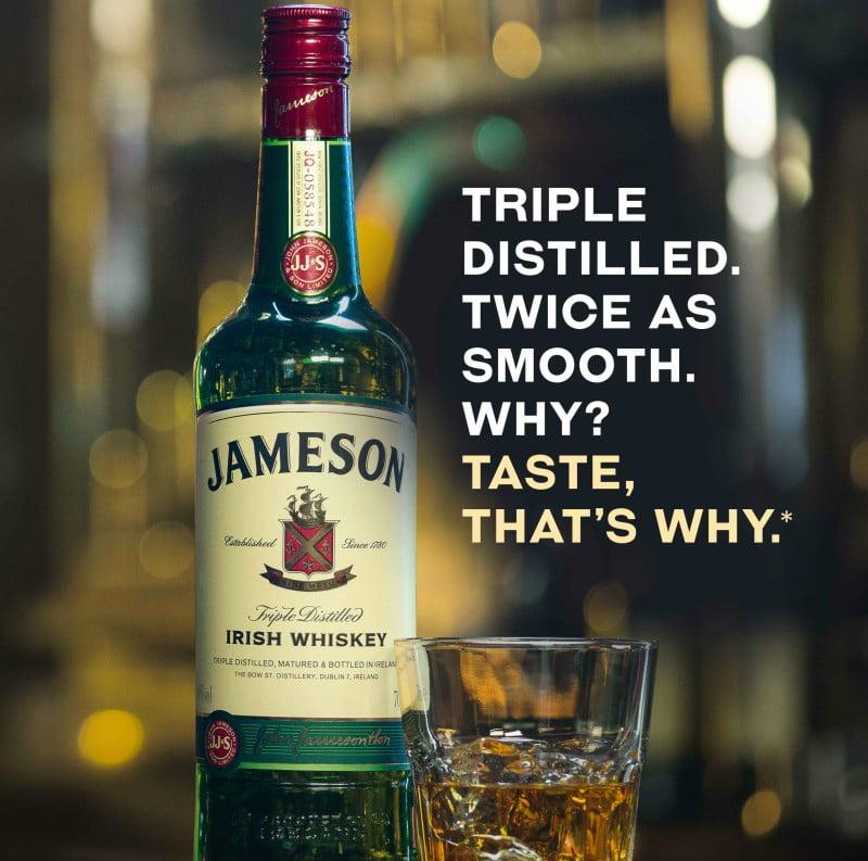 Nova campanha global da Jameson quer reforçar identidade da marca