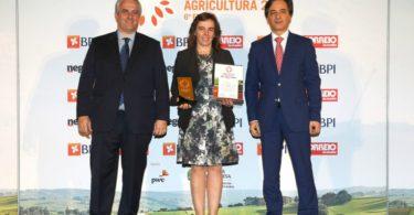 Montiqueijo recebe Prémio Nacional da Agricultura