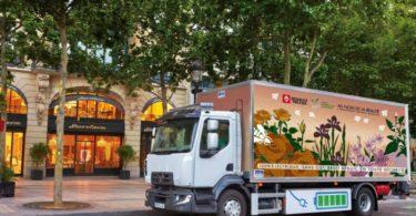 Renault Trucks começa a vender camiões elétricos em 2019