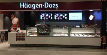 Häagen-Dazs renova loja do El Corte Inglés
