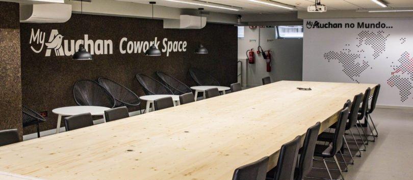 Auchan abre espaço de coworking gratuito em Lisboa