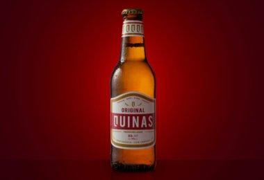 Cerveja Quinas quer conquistar quota de 3% no mercado cervejeiro num ano