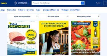 Makro lança novo site