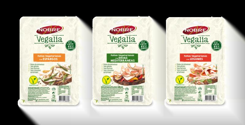 Nobre lança gama para vegetarianos