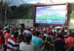 Dolce Vita Tejo transforma praça central em estádio para os jogos do Mundial de Futebol