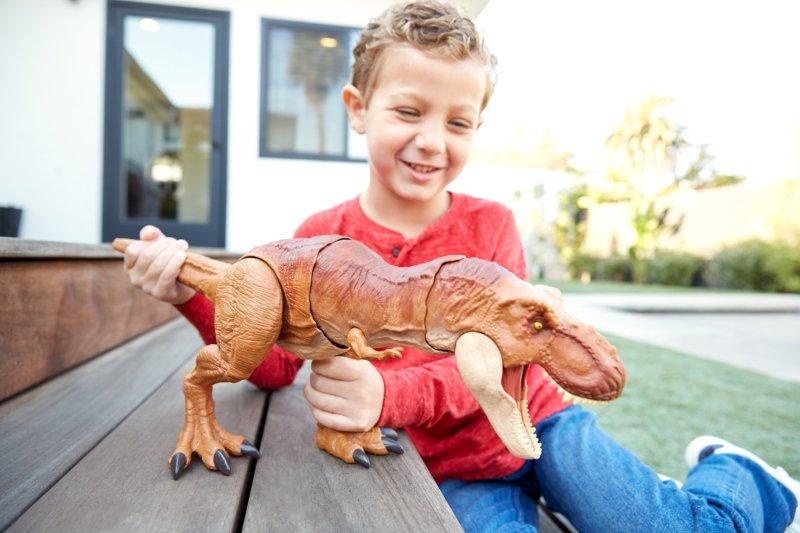 Mattel lança linha de brinquedos inspirados no Jurassic World