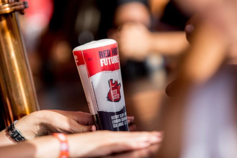 Super Bock elimina 3 milhões de copos descartáveis em festivais e eventos
