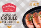 Campogrill lança salsicha Crioulo de Frango