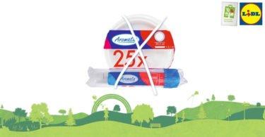 Lidl anuncia o fim do seu sortido de produtos de plástico descartável