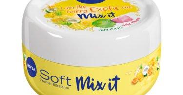Nivea lança três novas fragrâncias de Nivea Soft