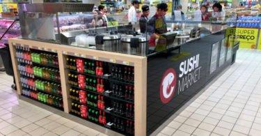 Continente cria quiosques de sushi nas suas lojas
